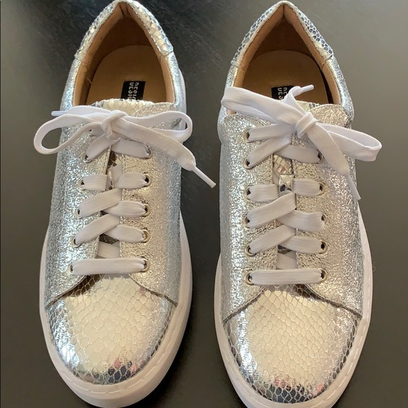 Design Lab Silver Sneakers | Poshmark